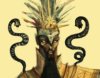 Concept art /Story of Zahhak