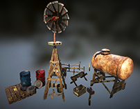 """Windmill and """"props"""""""