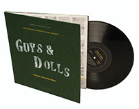 Guys & Dolls (LP album cover redesign)