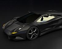 Vikintador supercar concept