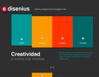 Diseño Web Edisenius