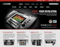 Creative Direction •line6.com Website Redesign