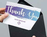 Greetale Custom Thank You Card designs