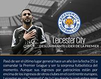 Leicester City - Lider de la Premier