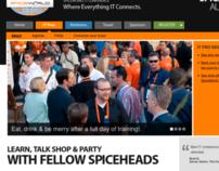 SpiceWorld 2012 Website