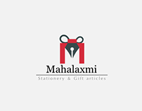 Mahalaxmi Stationery Logo
