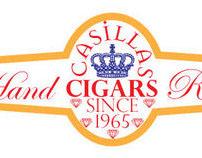 Cigar band for a local shop in Sacramento