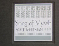 Book: Walt Whitman, Song of Myself