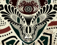 Psychedelic interior posters