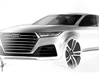 Audi Q8 Concept Renders