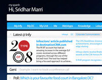 Sparsh - Infosys Intranet Portal [Redesign] - 2009