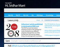 Sparsh - Infosys Intranet Portal [Redesign] - 2009