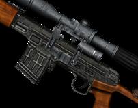 Modern weapon for SPECNAZ-2 FPS game