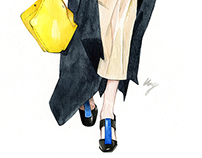 Catwalk Illustrations & sketches