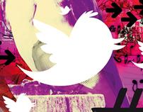 Twitter Ilustration for Grada Magazine