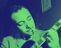 Django Reinhardt - Tribute Page Project