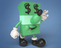 LUCKY DOLLAR figure for Jeremyville