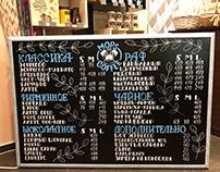 """Chalkboard lettering for """"MopsMarket"""""""