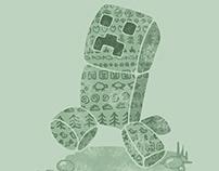 Vintage Minecraft illustrations
