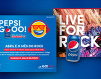 Pepsi Gooo! & Pepsi Live for Rock