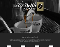 Coffee Web Design – Di Bella Coffee Website