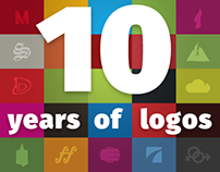 10 years of logos (kind of)