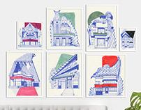 EXTRAPOLATIONS ARCHITECTURALES - architecture art deco