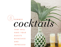 Cocktails Layout