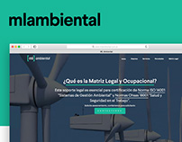 Desarrollo de Sitio Web — ML Ambiental