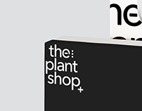 The Plant Shop | Logotype Design and Branding