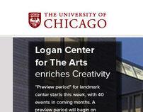 University of Chicago (website re-design)