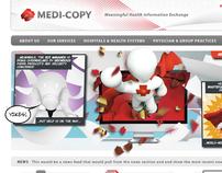 MediCopy Site & Carousel Design