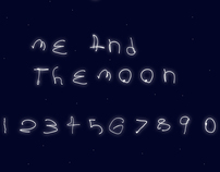 Me and the Moon Typeface