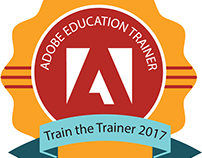 Adobe badge design
