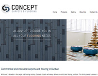 Concept Carpets & Flooring | Web Design
