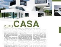 Dupli Casa, Architecture Magazine Spread