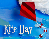 Kite Flying Day Poster
