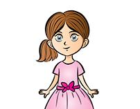girl illustrator