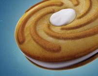 Ulker Rondo Sandwich Biscuit  3D