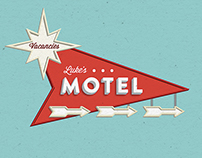 Luke's Motel Sign