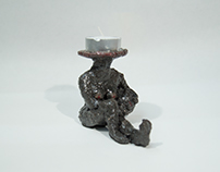 Headless Candle Holder