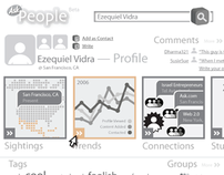 Ask People Wireframes