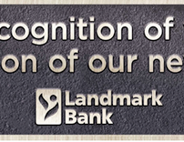 Landmark Bank - Outdoor