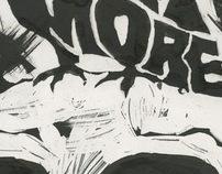 Nevermore- Ink on Bristol
