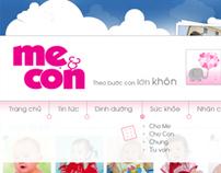 Me & Con website