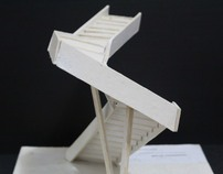 Model Study: Diagonal Stair