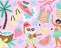 Promo Illustration / Cocofloss