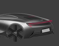 Aston Martin Sketches