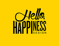 Hello Happiness Design - Logo Design