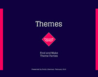Themes - mobile app